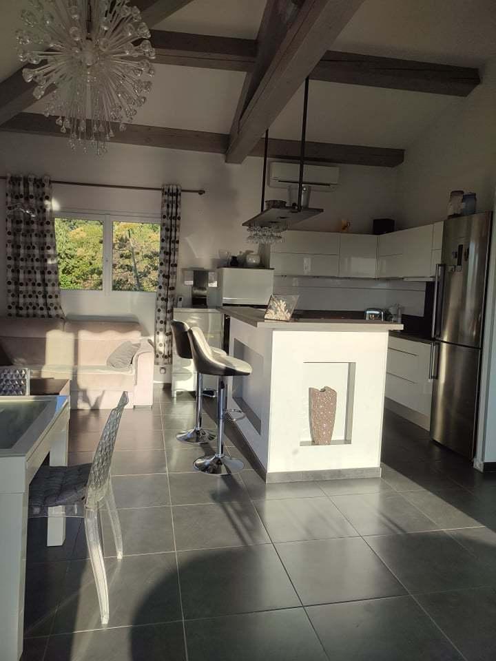 Cuisine salon salle à manger
